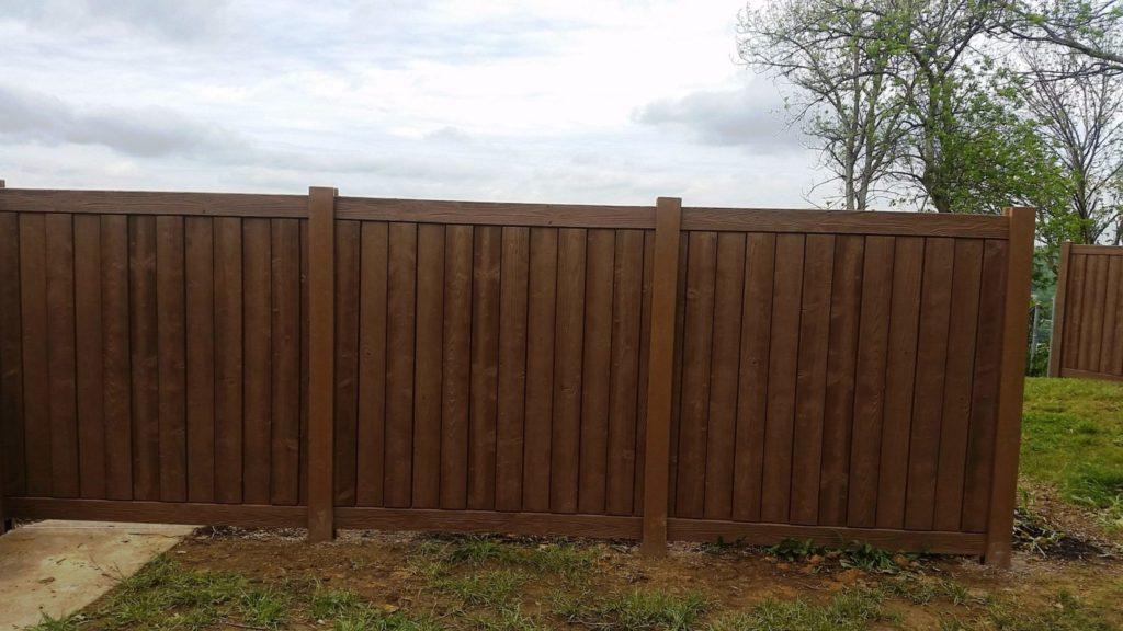 Pvc Vinyl Fence Installation In Cincinnati Mills Fence