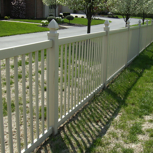 Fence gallery mills fence co - Pvc fencing solutions ...