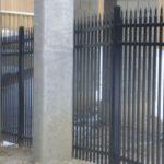Interior Black Aluminum Fence