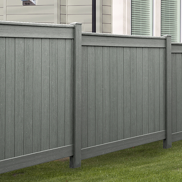 Pvc vinyl fence installation in cincinnati mills
