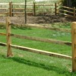 3 Rail Split Rail with Liner