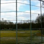 Chain Link Baseball Backstop