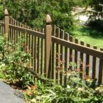 Scalloped Picket with French Gothic Posts